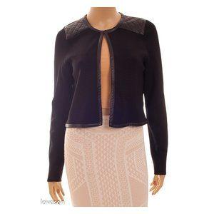 BARNEYS NEW YORK Cropped Knit Jacket